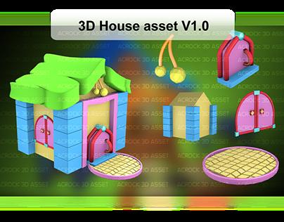 Blender 3d house