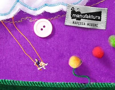 Manufaktura - 2017 campaign. ATL, OOH, Social Media