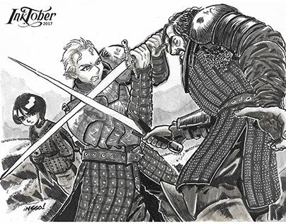 Inktober 2017: Arya Stark Chronicles