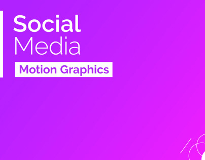 Motion Graphics | 2016/2017