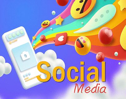 Social Media Project (galaxy hair protein)