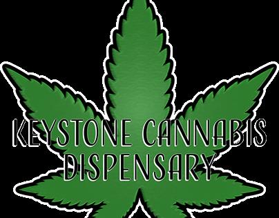 Keystone Cannabis Dispensary Logo Creation