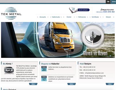 Tek Metal Corporate Identity Project