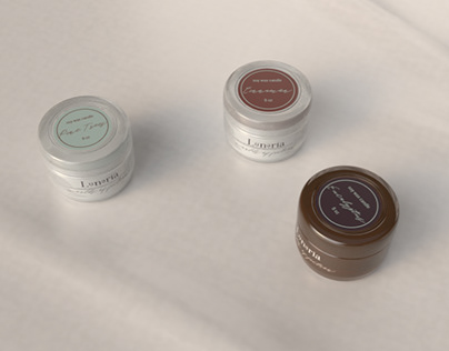 Lunaria Soy Wax Candles Branding
