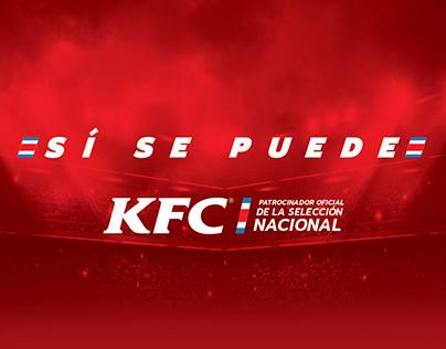 Patrocinio Selección Nacional - KFC