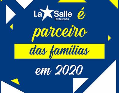 Card Informativo para Colégio La Salle Botucatu