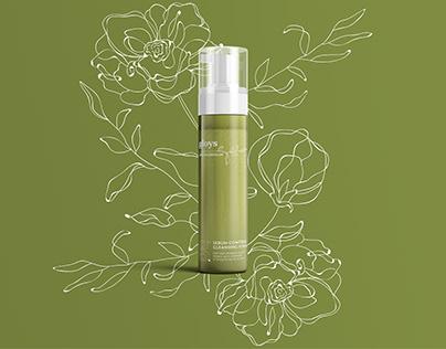 Cosmetic label design — Gloys