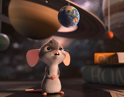 The Little Curious Mouse