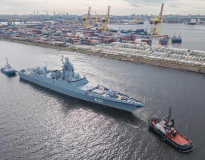 """Frigate """"Admiral Kasatonov"""" en route to state tests"""