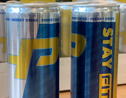 ProFit energy drink cans
