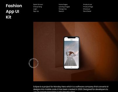Eclipse Fashion App