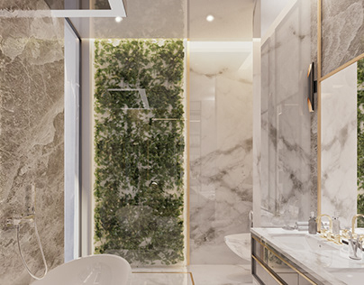 MASTER BATHROOM | Swanlake Villa Location: Cairo