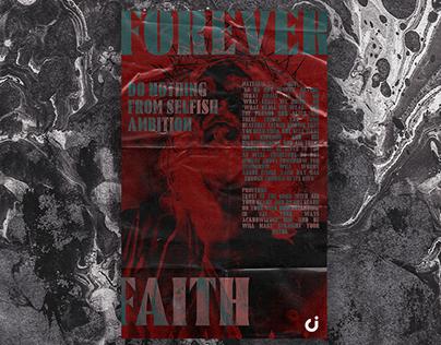 Forever Faith Poster Design 🙏