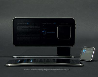 Narc_ PANTECH-Concept smart pad