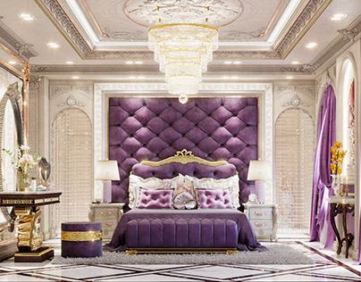 Classic Master Bedroom Interior - Part 01