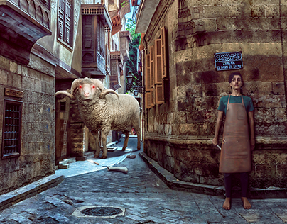 Monster Sheep