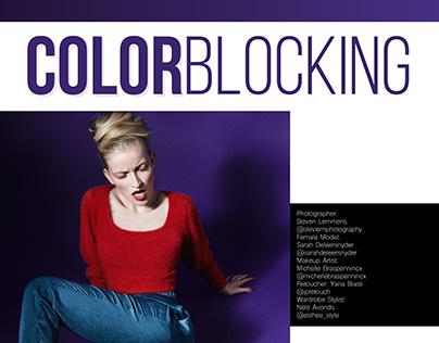 COLORBLOCKING for MARIKA Magazine