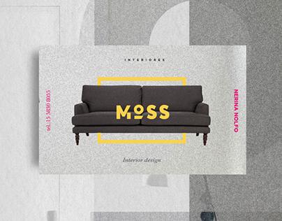 MOSS Interior Design Branding