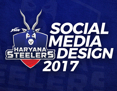 Social Media Designs - Haryana Steelers