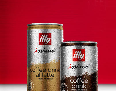Illy Coffee Mock Up for Lighthouse