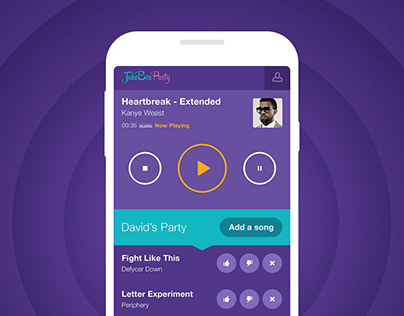 Jukebox Party — Mobile Application