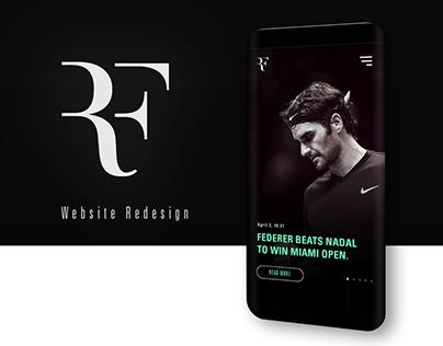 ROGER FEDERER | Website Redesign