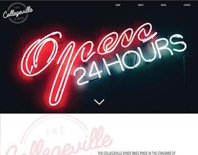Collegeville Diner Website Redesign