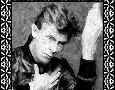 David Bowie PORTRE ART
