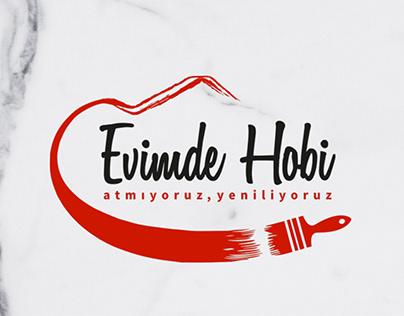 Evimde HobiE-Ticaret Sitesi Branding