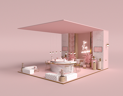 Booth Design for Beauty Co Kuwait