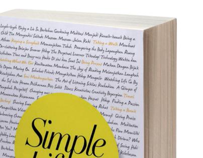 Book Design - Simple Life