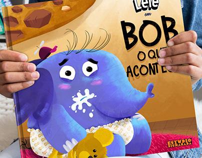 """Children's Book - """" Bob, o que acontece?"""""""