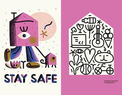 Stay Home Posters