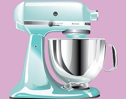 Digital Illustration: KitchenAid