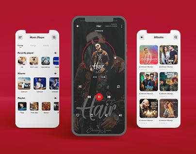 Music Player App UI UX Design