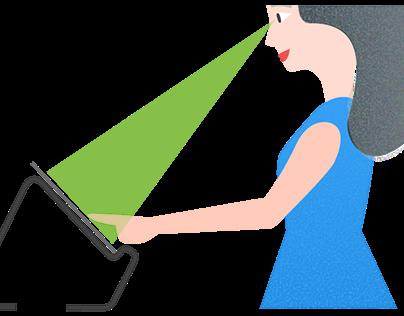 Tablet stand design - 3D modeling