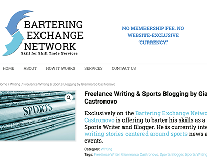 Sports Blogging & Freelance Writing Services