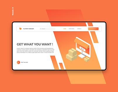 Flyway Hanger Web app UI Design