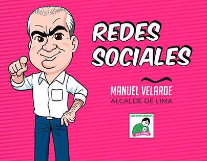 Manuel Velarde - Redes Sociales
