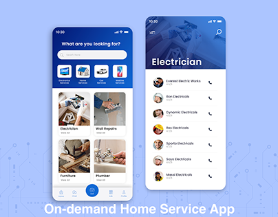 On-demand Home Delivery App