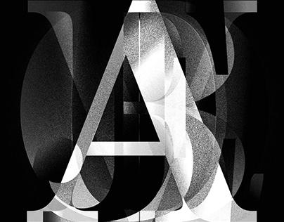 Typographic experiments GIFs