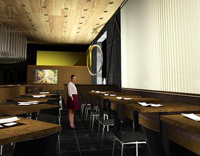 CAFE 501   ELLIOT + ASSOCIATES ARCHITECTS