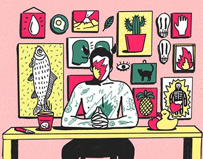 Various Illustration 2018