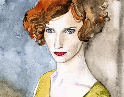 Film illustrations, part 4: Ladies