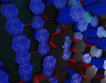 Icosahedron Background