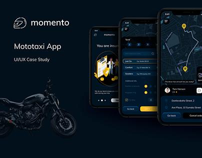 Momento - Mototaxi App