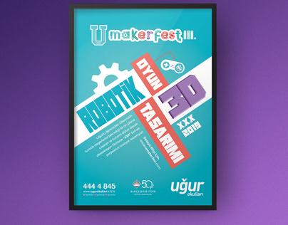 U makerfest III. Poster