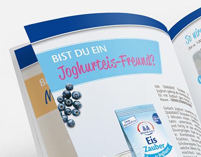Pfeifer & Langen Editorial   Typografie