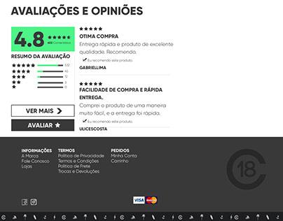 Projeto Censura 18 - E-commerce
