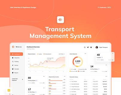Transport management system - Dashboard
